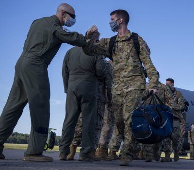 19th Airlift Wing Airmen return home