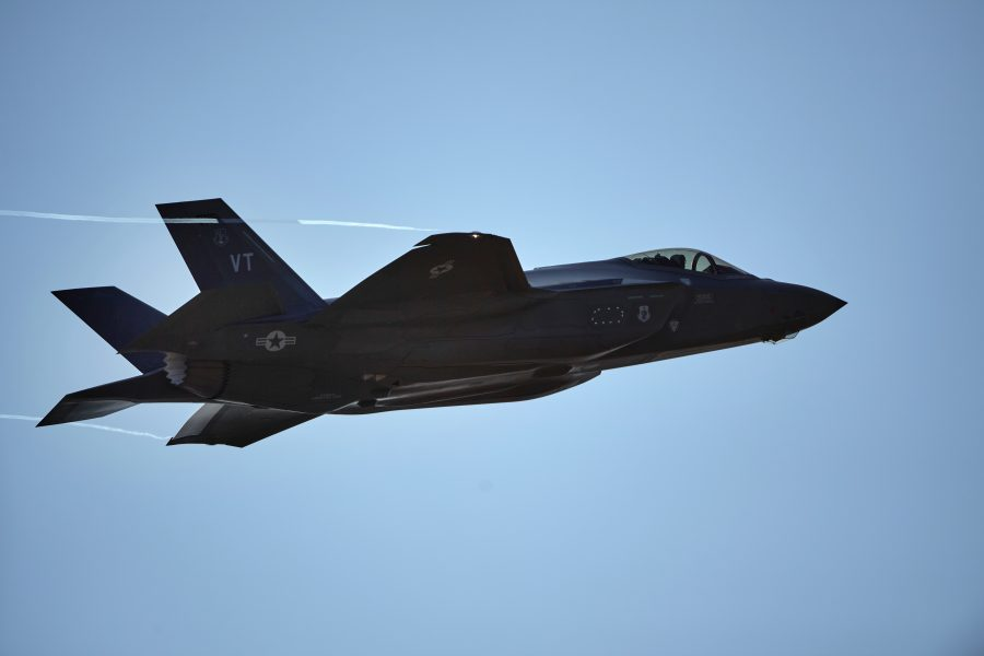 Vermont's Final F-35A Lightning II Arrives