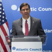 SecDef participates in Atlantic Council's #ACFront Page event series