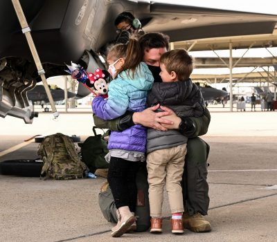 421st Fighter Squadron returns to Hill AFB