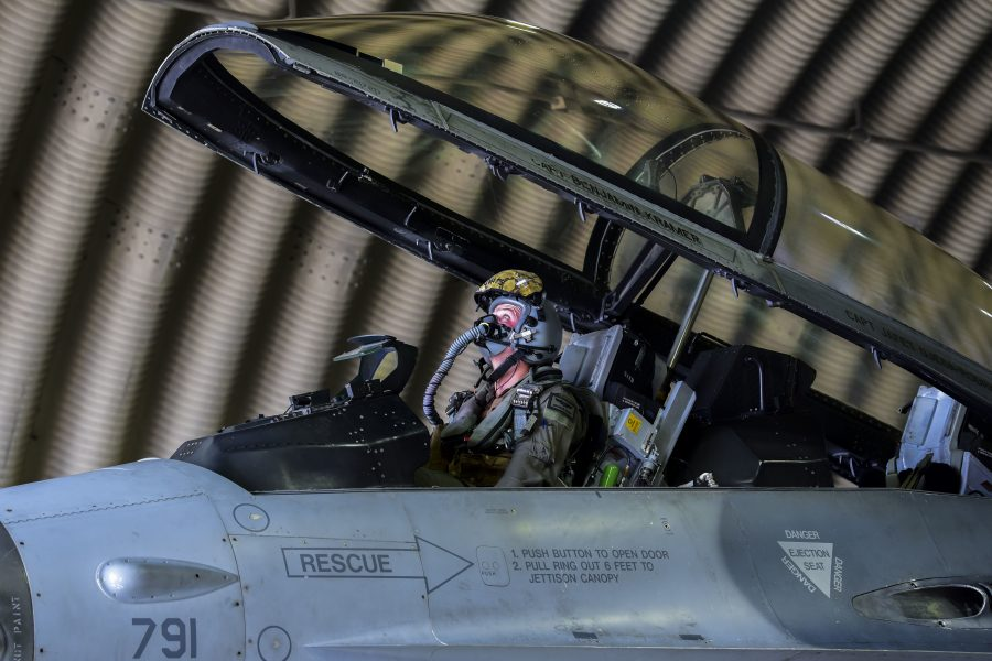 80th AMU inspect and refuel during routine training