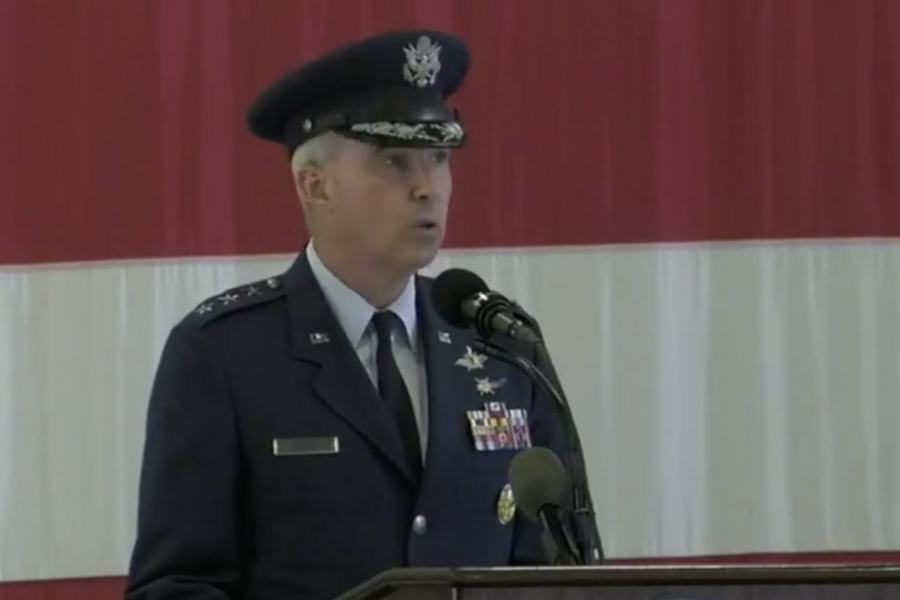 Space Operations Command Ceremony