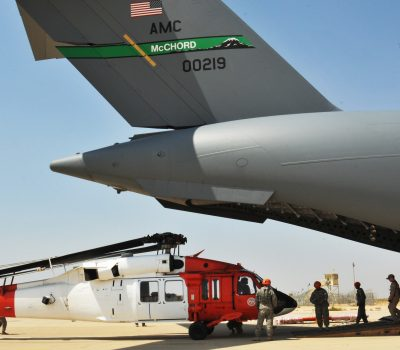 Army Aviation and Air Force come together to complete vital mission in Egypt