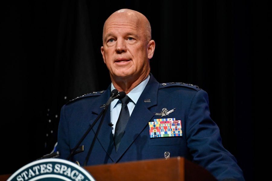"Chief of Space Operations Gen. John W. ""Jay"" Raymond"