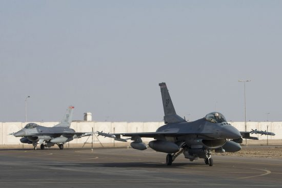 F-16s at Al Dhafra