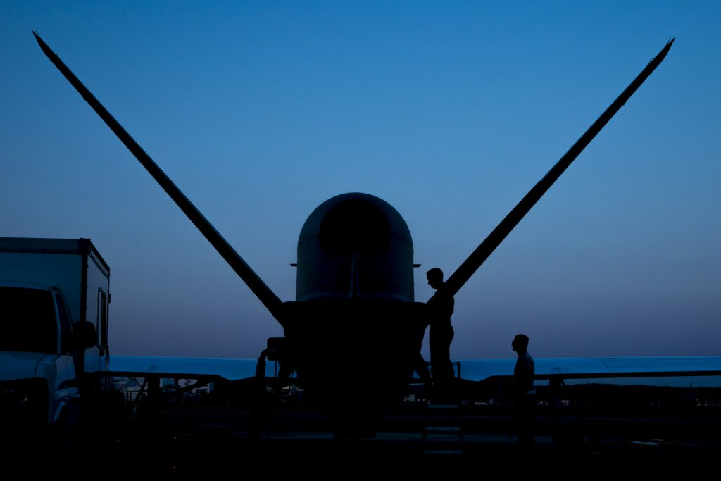 RQ-4 Global Hawk's first take off from Yokota