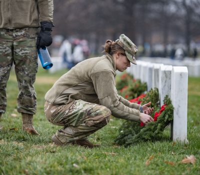 28th Wreaths Across America Day at Arlington National Cemetery