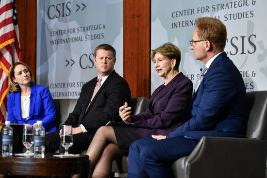 Kathleen Hicks Tri-Service Panel at CSIS