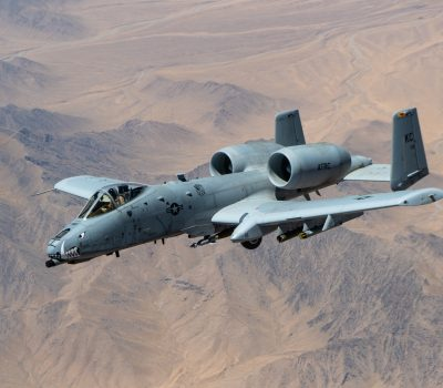 KC-135 refuels A-10s over Afghanistan