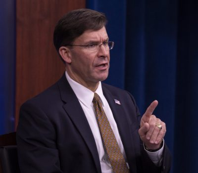 SecDef Esper Virtual Engagement with Industry Partners