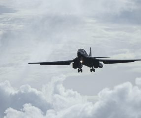 B-1B Lancers arrive at Andersen AFB for BTF