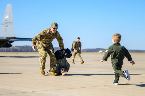 139th Airlift Wing Homecoming