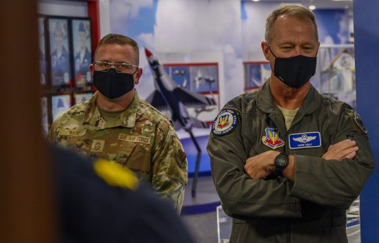 Nellis showcases advanced training capabilities to ACC command team