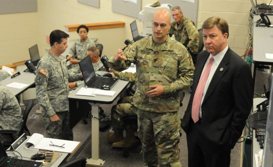 Congressional Visit to Alabama Army National Guard's 167th TSC