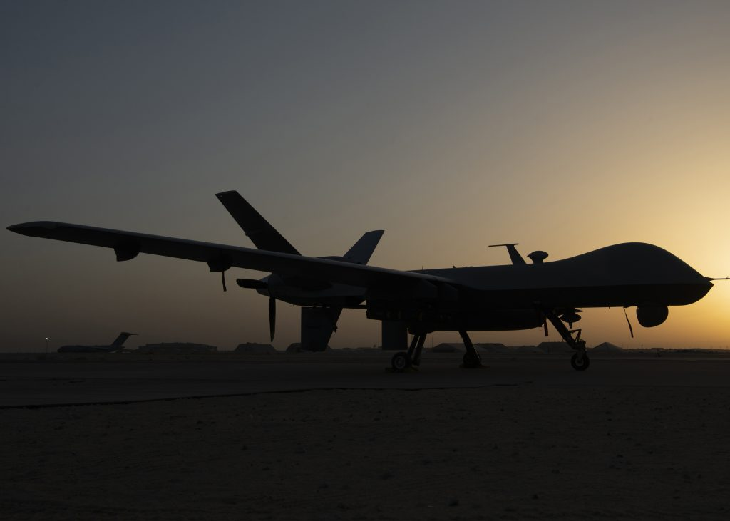 386th EAMXS Airmen maintain, launch and recover Reapers