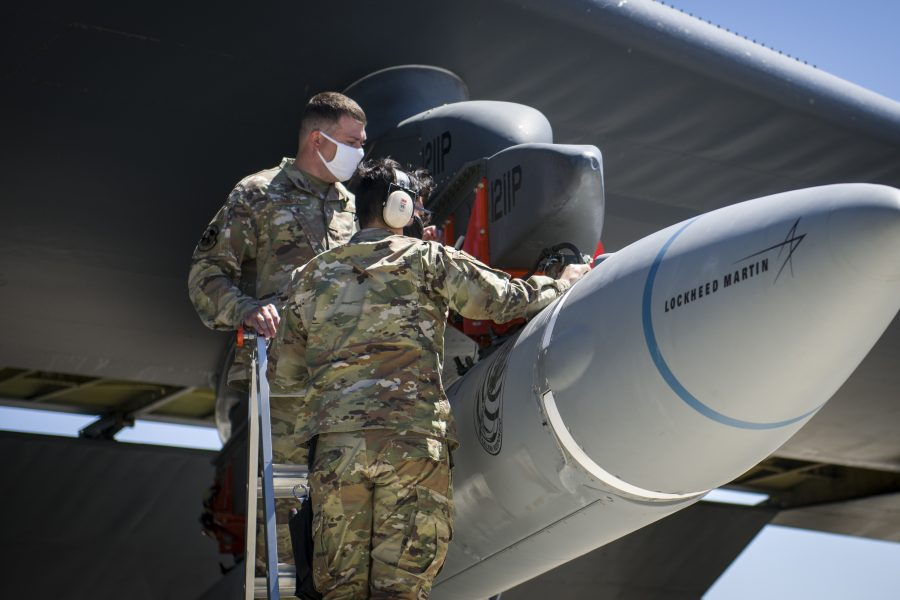 Air Force conducts latest hypersonic weapon flight test
