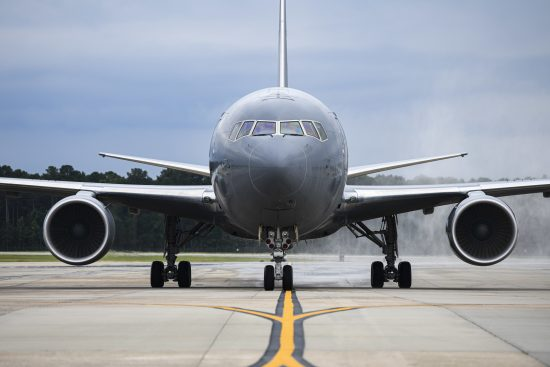 First KC-46A Pegasus lands at Seymour Johnson
