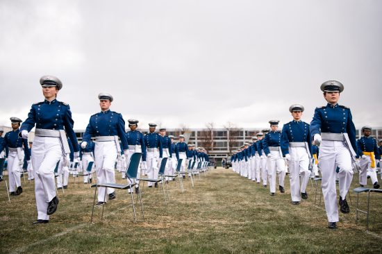 U.S. Air Force Academy Graduation Class of 2020