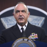 STRATCOM Commander Holds Pentagon Briefing