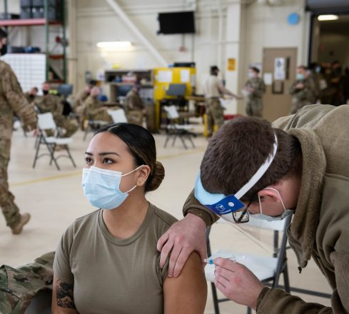 Minnesota National Guard COVID-19 Vaccination