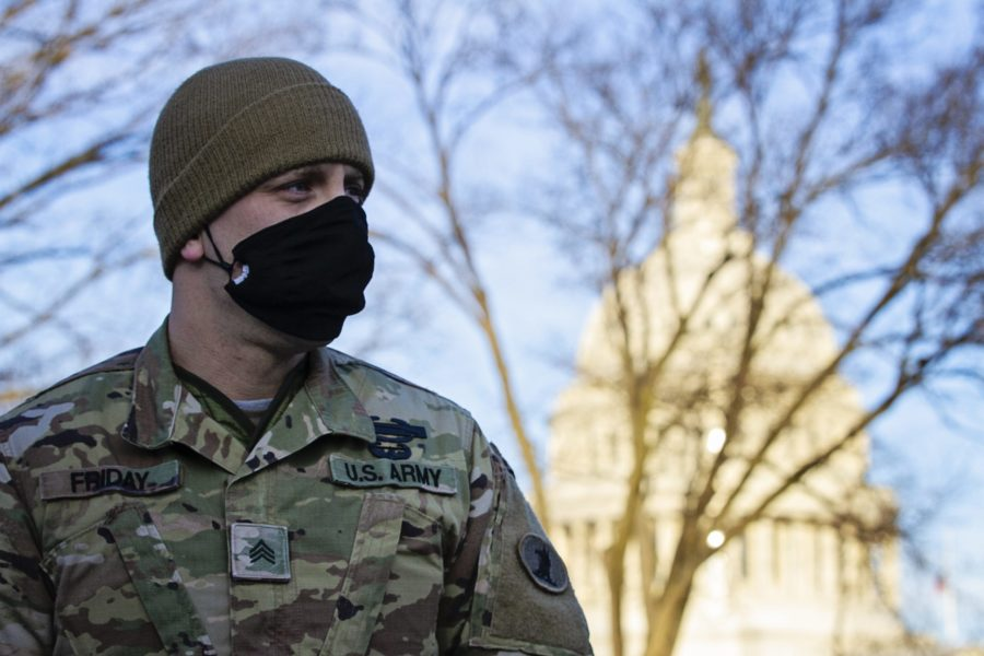 More than 200 soldiers with the Delaware Army National Guard Soldier are on duty in Washington D.C