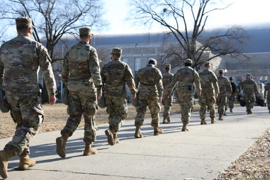 MDNG Arrives in D.C. to Provide Support for 59th Presidential Inauguration
