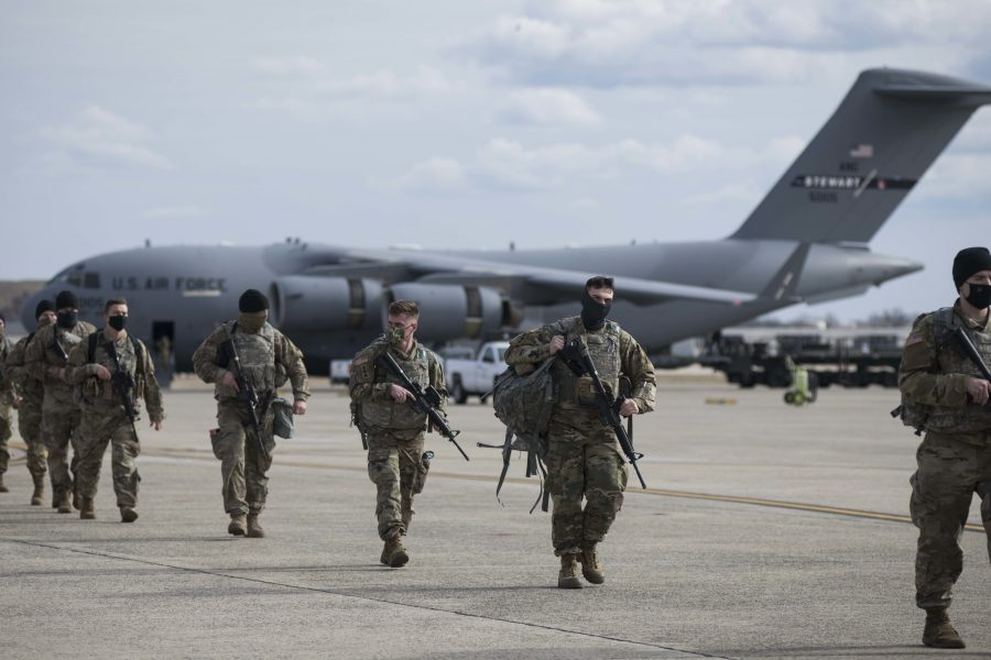ANG airlifts troops nationwide to DC for 59th Inauguration
