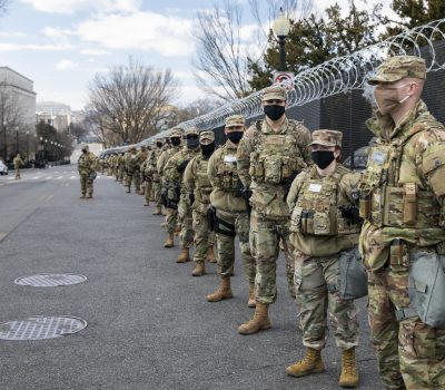 National Guard Provides Security for 59th Presidential Inauguration
