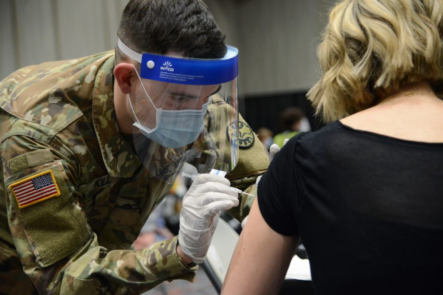 Oregon National Guard assist with COVID-19 vaccine distribution