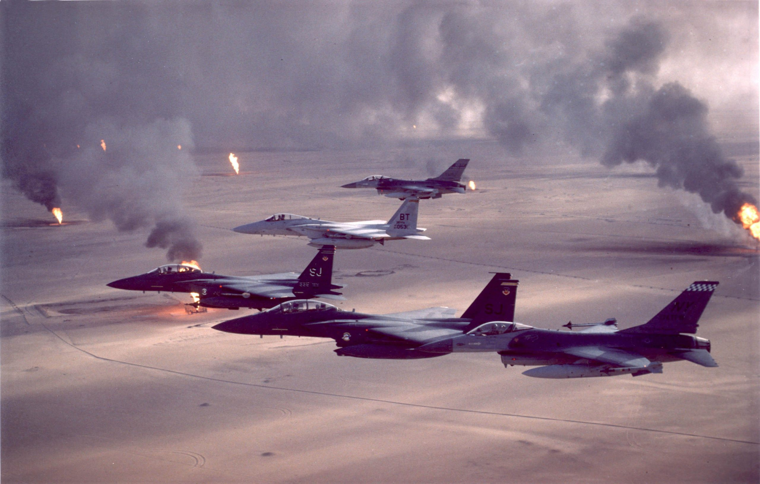 US Military News • 30th Anniversary of Operation Desert Storm – 1st Fighter Wing