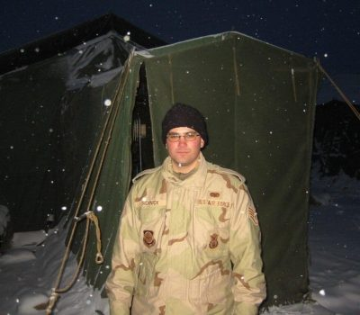 Sicknick -deployment to Kyrgyzstan, Operation Enduring Freedom, 2003
