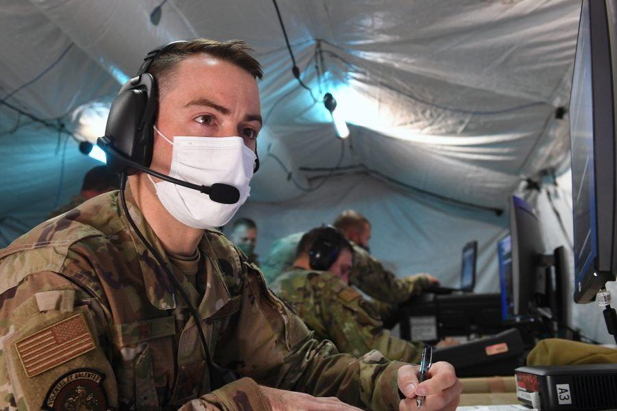 379th SRS conducts Deployment Field Training Exercise
