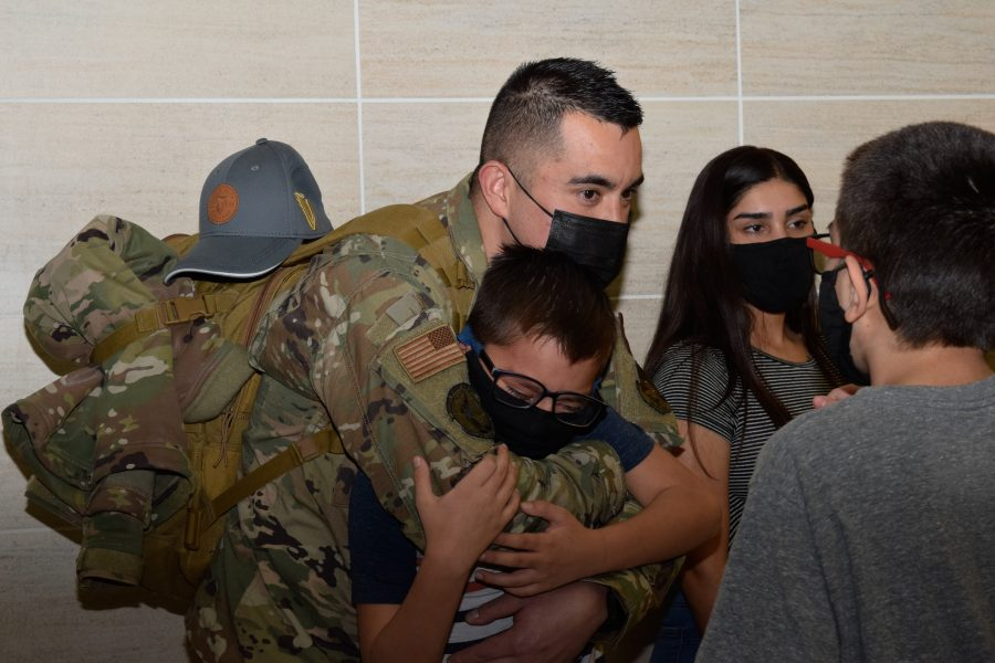 433rd Security Forces defenders return home