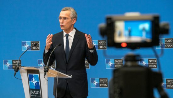 Press conference by the NATO Secretary General after the meetings of the Ministers of Defence