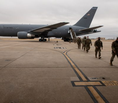 Oklahoma National Guard returns from support for 59th Presidential Inauguration