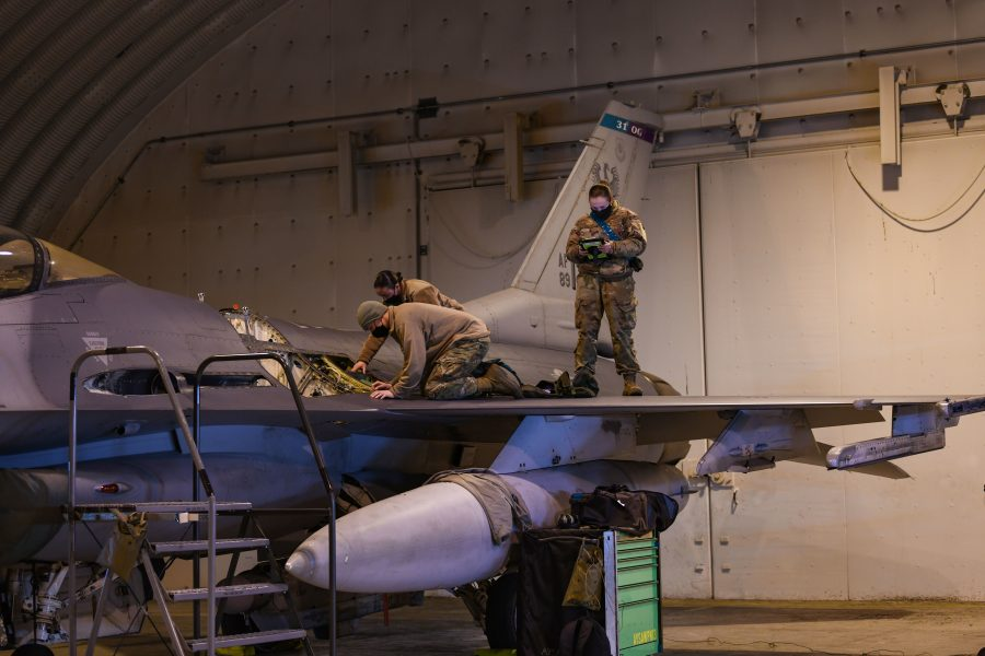 31st AMXS perform safe, expeditionary aircraft maintenance anytime, anywhere