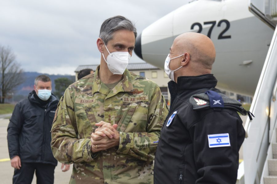 IDF delegation arrives at Ramstein Air Base to participate in Juniper Falcon 21