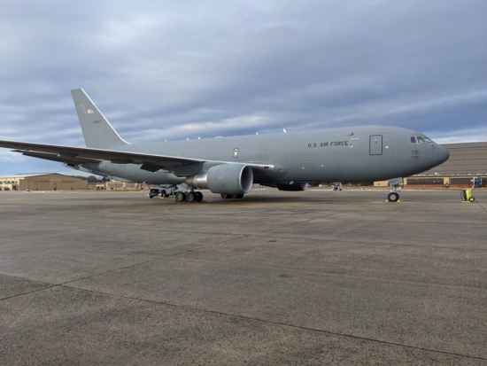 KC-46 at Andrews
