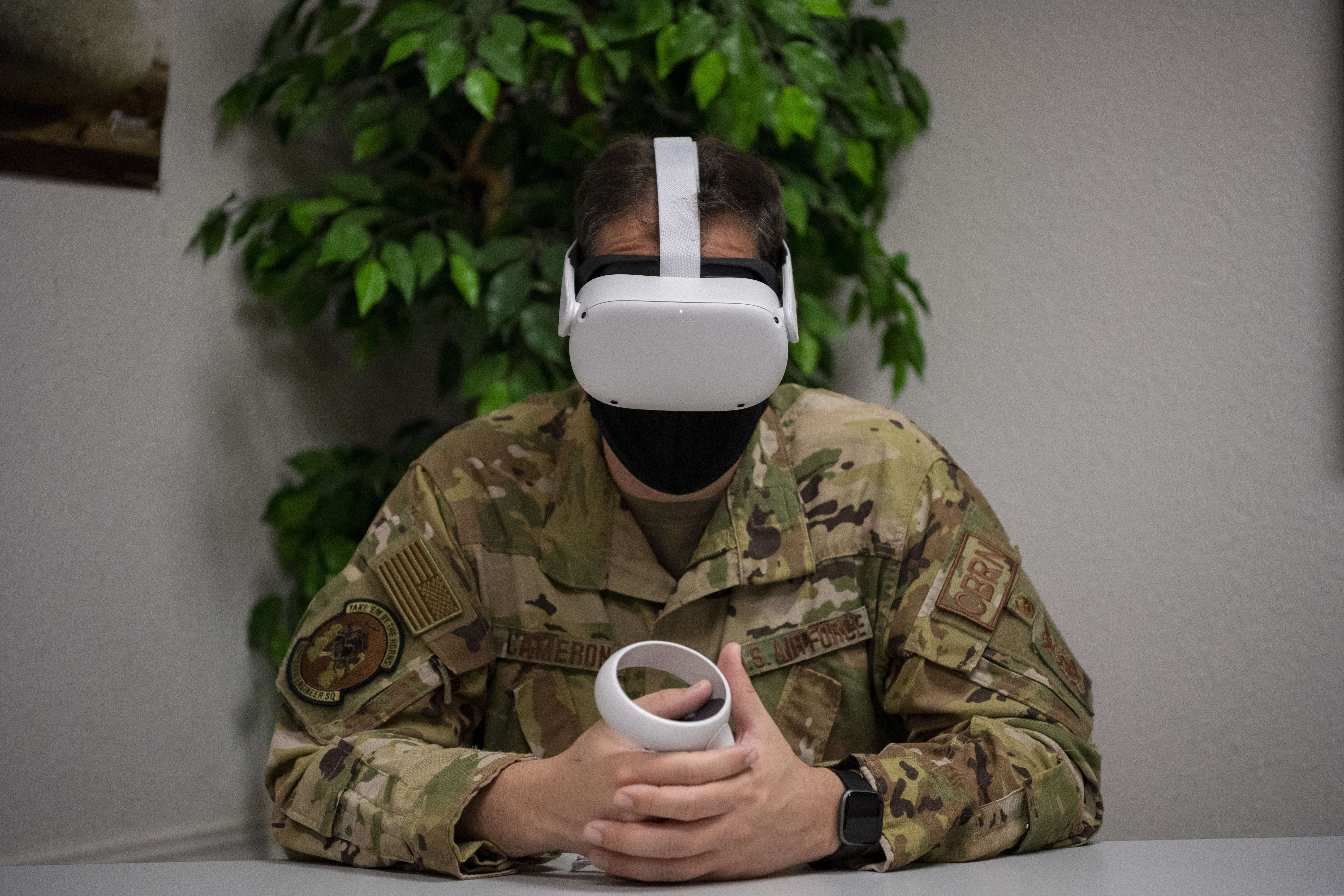 DoD tests VR suicidal prevention training at Scott and Travis AFBs