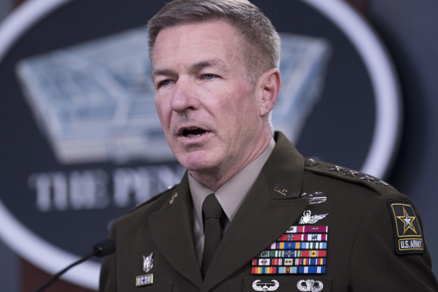Chief of Staff of the Army Gen. James C. McConville