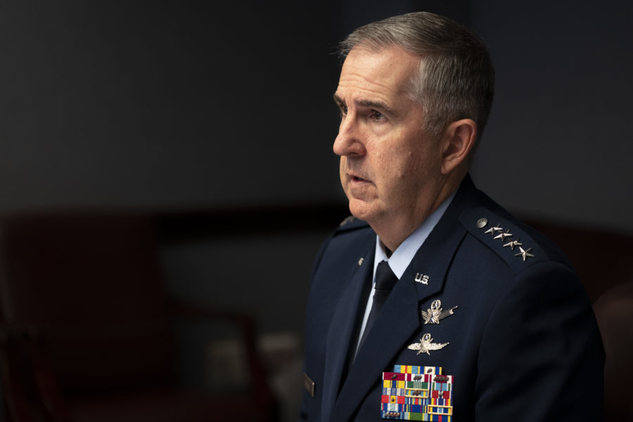 NSSA Space Time with VCJCS Gen. Hyten