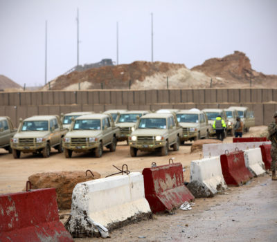 Iraqi Security Forces Receive More Vehicles and Weapons