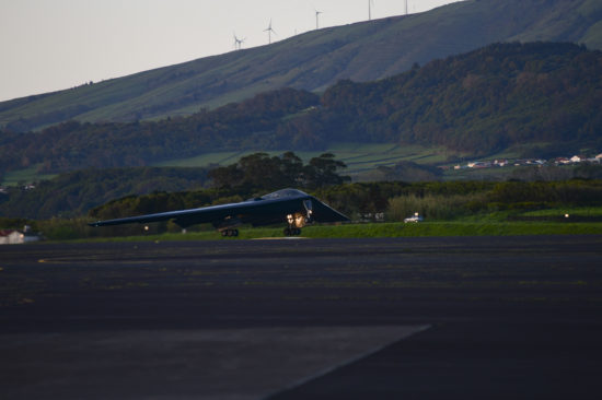 B-2 depart Lajes Field for final BTF Europe integration mission