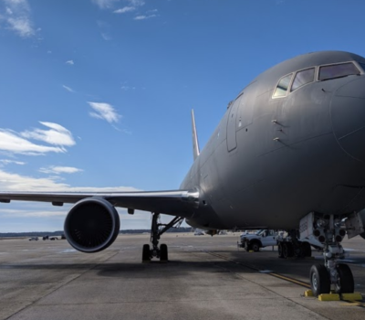 KC-46 at Andrews AFB