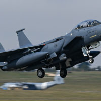 F-15s, F-16s and C-130s arrive in Poland for an Agile Combat Employment exercise