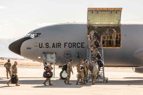 151st Air Refueling Wing Deploys