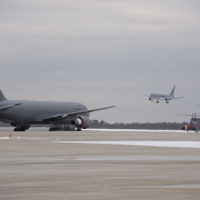 Pease Receives 12th and Final KC-46