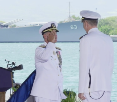 INDOPACOM Change of Command