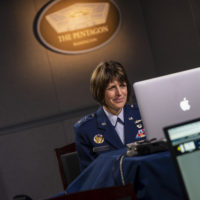 Maj Gen Crider of USSF Participates in 5G Summit
