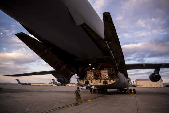 Travis AFB is delivering life-saving COVID aid to India